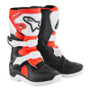 Tech 3S Yooth MX Boots Black/White/Red Size 1
