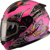 Youth Gm-49Y Alien Snow Helmet Pink/Purple Ys