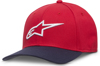 Ageless Curve Hat Red/Navy Small/Medium