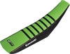 Gripper Seat Cover Black/Green - For 12-18 Kawasaki