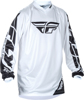 Universal Jersey White Youth X-Large