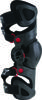 Fluid Tech Carbon Knee Brace Left Black/Red/White S-L