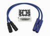 Spiral Core Wire Set 8.0mm Blue - For 99-08 Twin Cam