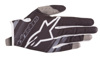 Youth Radar Flight Gloves Black/Grey Youth 2X-Small