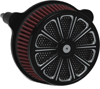 Luck Air Cleaner Assembly Black - Harley