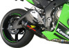 Carbon & Titanium Cat Eliminating Slip On Exhaust - Kawasaki ZX10R