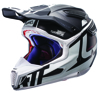 Helmet GPX 6.5 Carbon V16 DOT + ECE XL Carbon/White