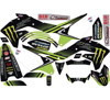 2018 Monster Energy Kawasaki Kx 125/250 Complete Graphic Kit - 03-07 Kawasaki KX250 03-05 KX125