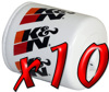 10 Pack: Oil Filters Pro Series