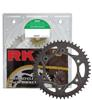 GB520EXW-100 Chain 15/38 Black Aluminum Sprocket Kit