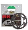 520EXW-86 Chain 13/38 Black Aluminum Sprocket Kit
