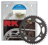525GXW-110 Chain 17/39 Black Aluminum Sprocket Kit - RK Excel Chain & Sprocket Kit