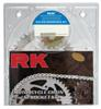 525GXW-110 Chain 17/41 Silver Aluminum Sprocket Kit - RK Excel Chain & Sprocket Kit