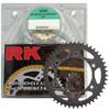 QA GB520GXW-108 Chain 15/43 Black Aluminum Sprocket Kit