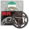 QA 520GXW-114 Chain 15/41 Black Aluminum Sprocket Kit
