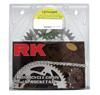 QA 520GXW-110 Chain 16/40 Silver Aluminum Sprocket Kit - RK Excel Chain & Sprocket Kit
